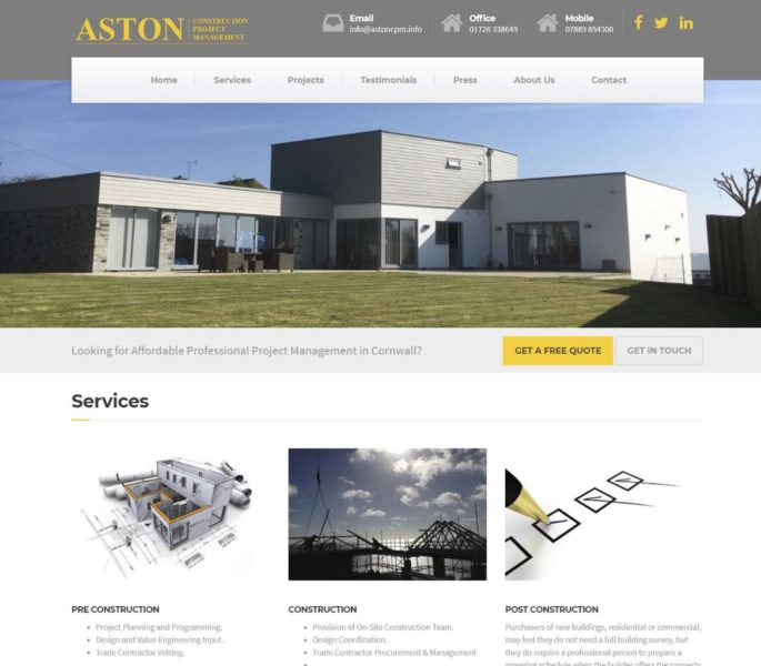 Aston Construction Project Management