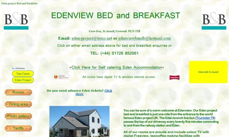 Edenview B & B