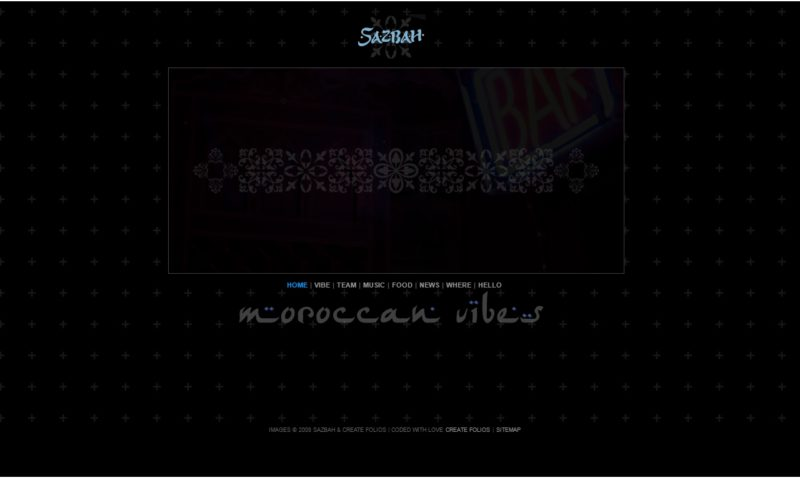 Sazbah – Moroccan Cafe Bar