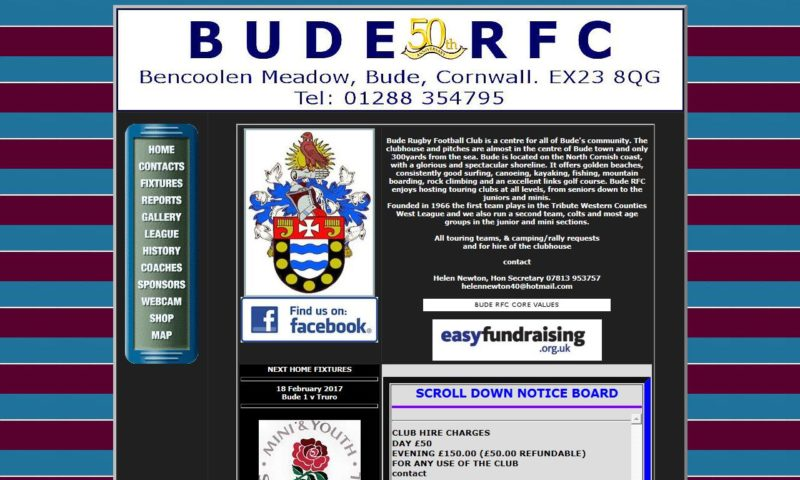 Bude Town Rugby Football Club