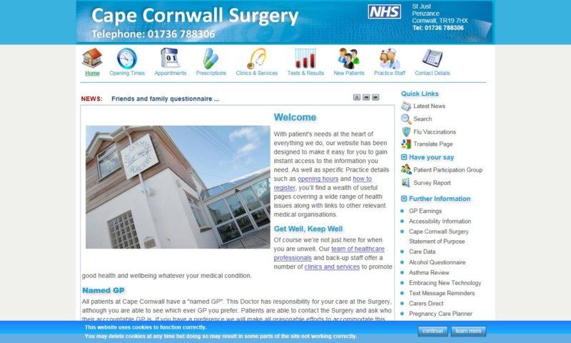 Cape Cornwall Surgery