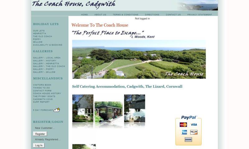The Coach House, Cadgwith