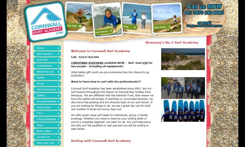Cornwall Surf Academy