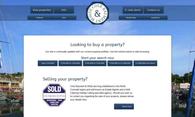 Cole Rayment & White Estate Agents