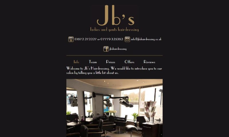 Jb's Hairdressing