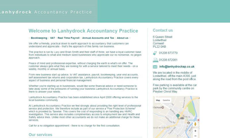 Lanhydrock Accountancy Practice