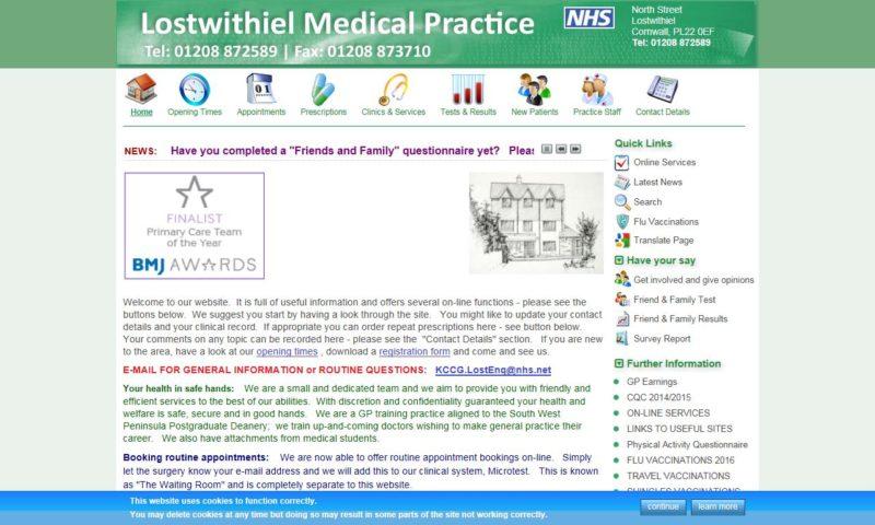 Lostwithiel Medical Practice