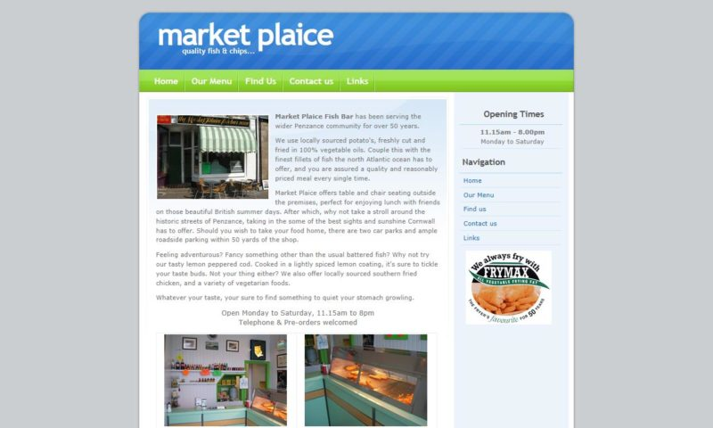 Market Plaice – Fish and Chip Shop