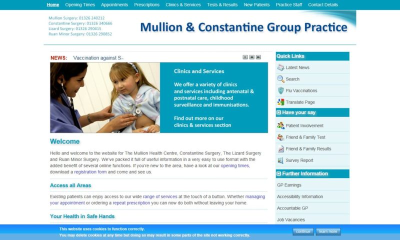 Mullion and Constantine Group Practice