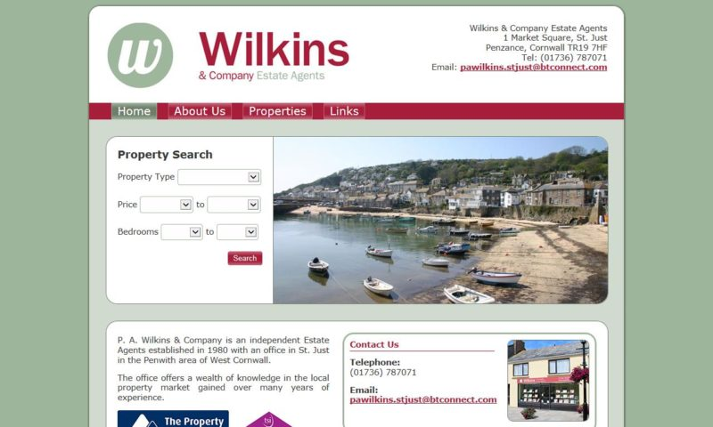 P.A. Wilkins Estate Agents
