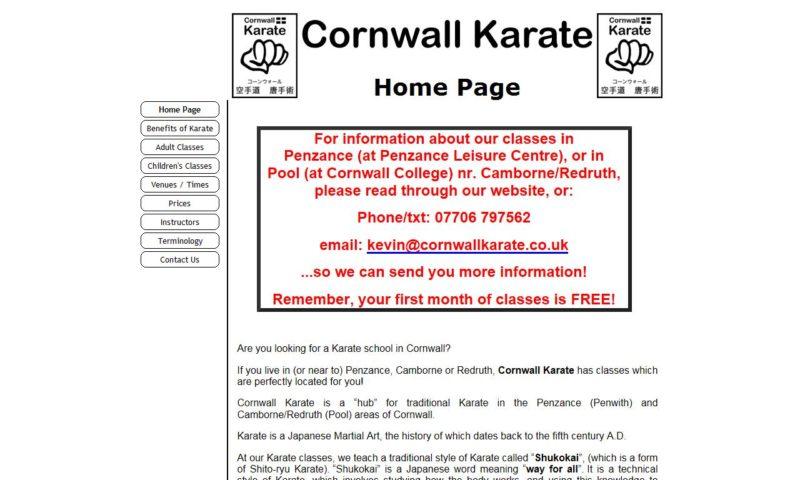 Samurai Karate Cornwall