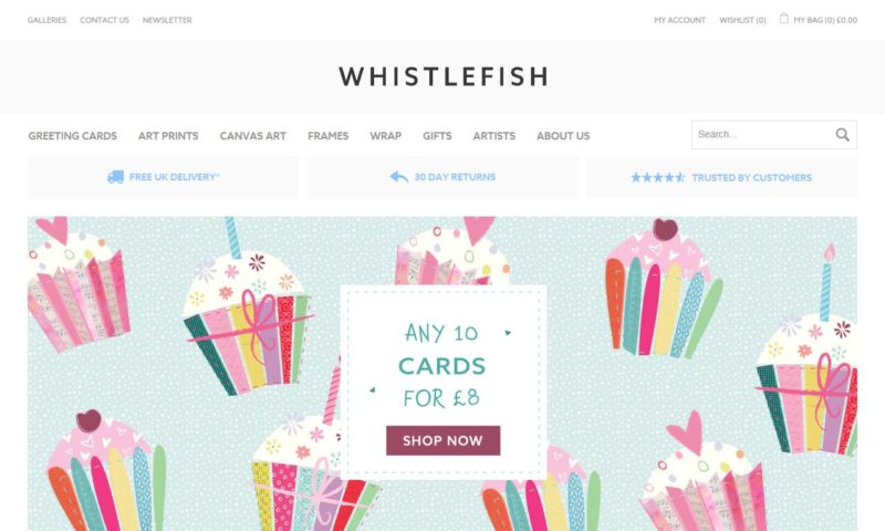 Whistlefish Galleries